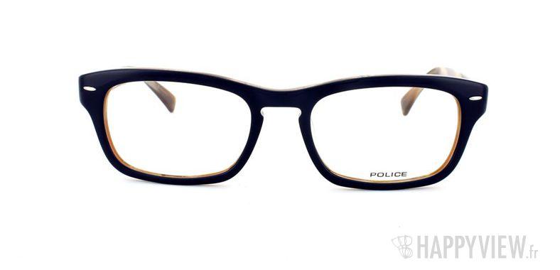 Lunettes de vue Police Police V1697 bleu/écaille - vue de face