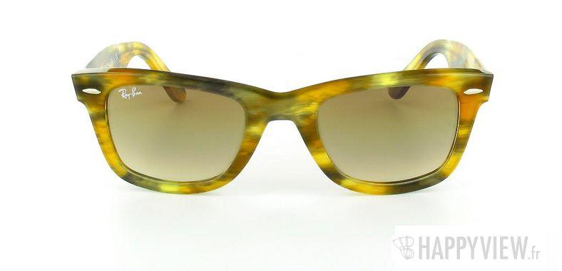 Lunettes de soleil Ray-Ban Ray-Ban Wayfarer Rule Yellow écaille - vue de face