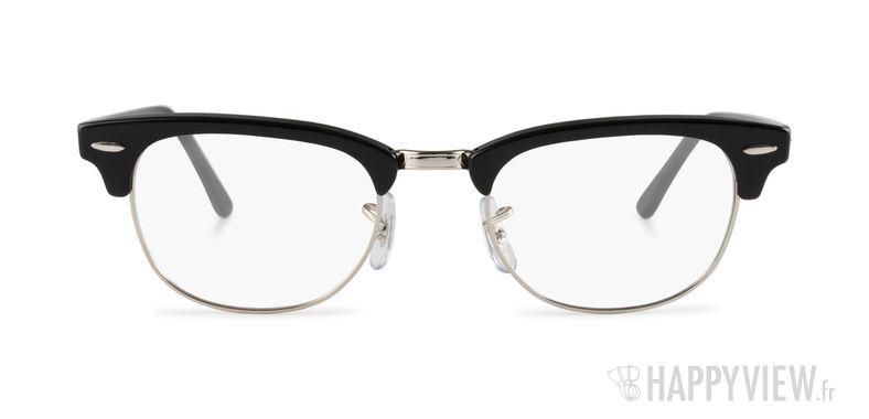 ... Lunettes de vue Ray-Ban RX 5154 Clubmaster noir - Vue de face ... 97c23cb14e28