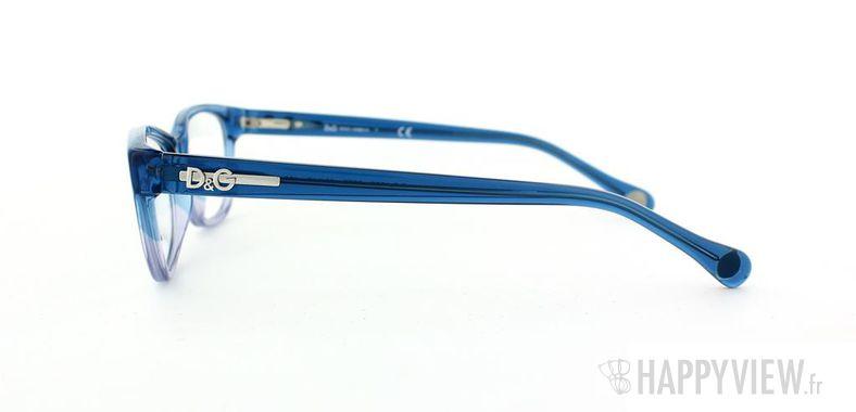 Lunettes de vue Dolce & Gabbana D&G 1205 bleu/bleu - vue de côté
