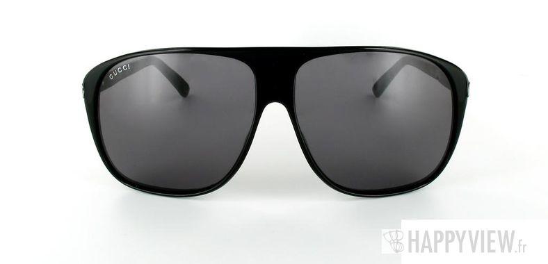 Lunettes de soleil Gucci Gucci 1631 noir - vue de face