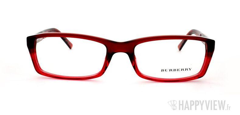 Lunettes de vue Burberry Burberry 2077 rouge - vue de face