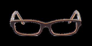 Lunettes de vue Happyview SASHA marron fabriquées en France