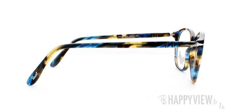 Lunettes de vue Persol Persol 3007V écaille/bleu - vue de côté