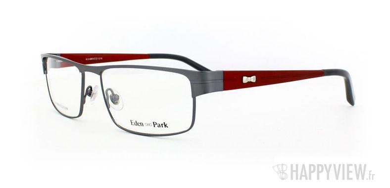 Lunettes de vue Eden Park Eden Park 3554 Magnésium gris/rouge - vue de 3/4