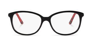 Lunettes de vue Le Temps des Cerises Joey noir/rouge