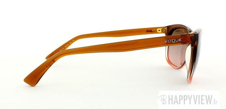 Lunettes de soleil Vogue Vogue 2743S marron/rose - vue de côté