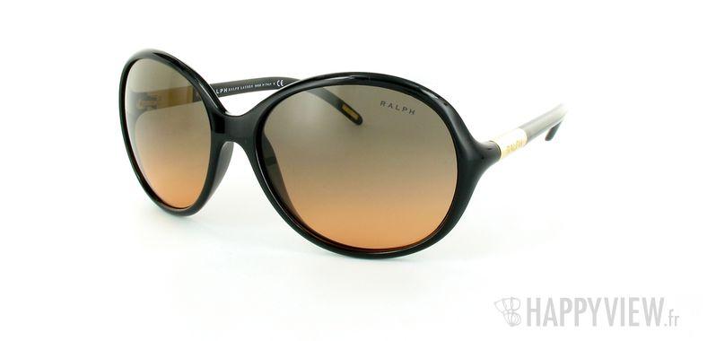 Lunettes de soleil Ralph Lauren Ralph Lauren 5071 noir - vue de 3/4