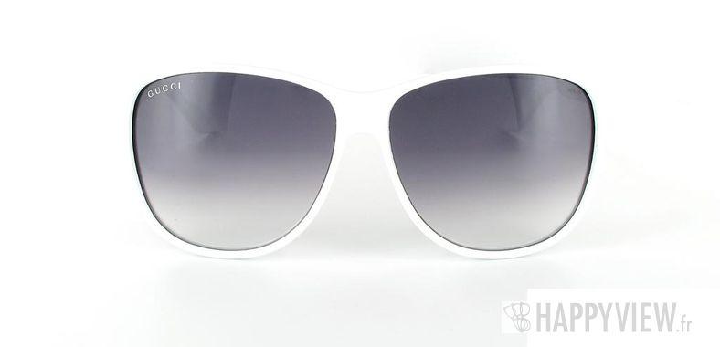 Lunettes de soleil Gucci Gucci 1636 blanc - vue de face