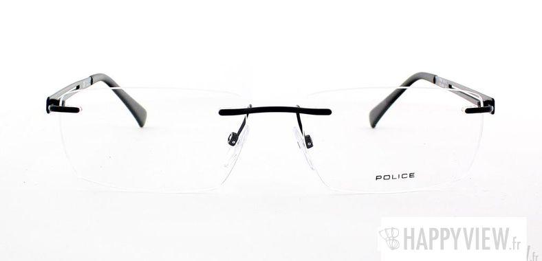 Lunettes de vue Police Police V8730 noir - vue de face