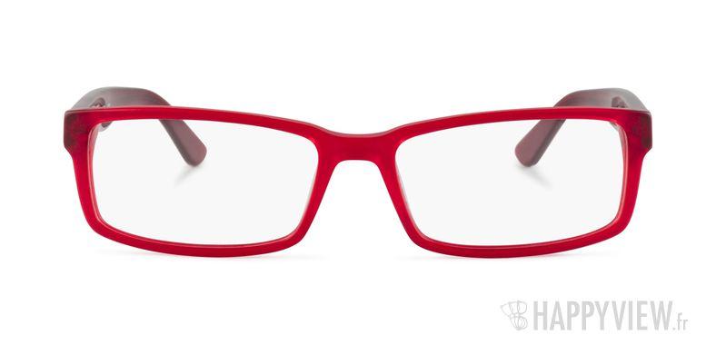 Lunettes de vue Lacoste L 2685 rouge - vue de face