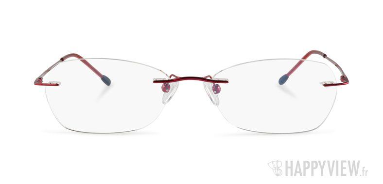 Lunettes de vue Starvision by Seiko 1031 Titane rouge - vue de face