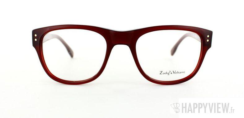 Lunettes de vue Zadig&Voltaire Zadig&Voltaire 3004 rouge - vue de face
