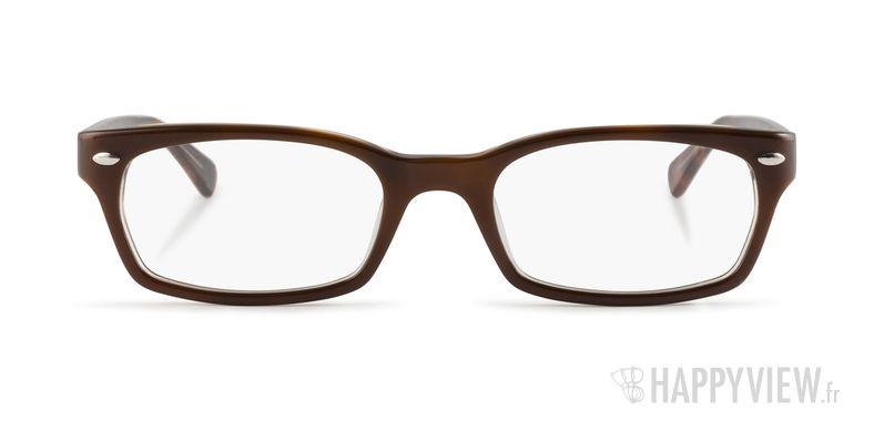 Lunettes de vue Ray-Ban RX 5150 marron - vue de face