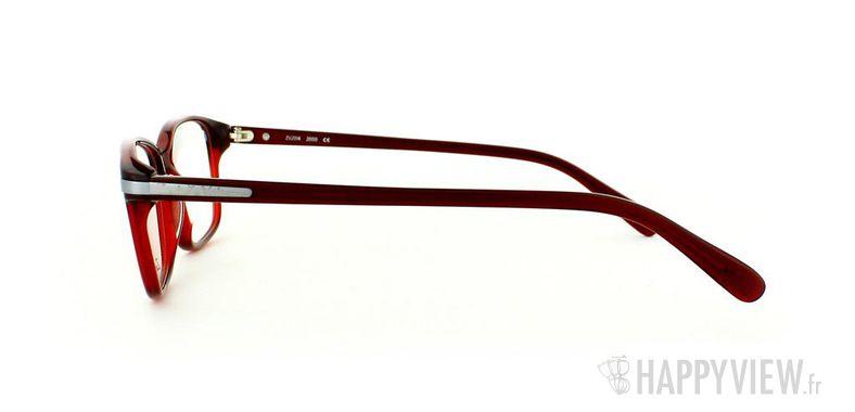Lunettes de vue Zadig&Voltaire Zadig&Voltaire 2014 rouge - vue de côté
