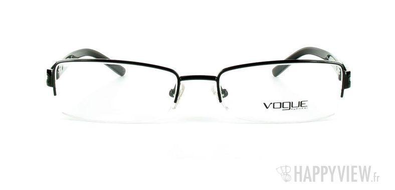 Lunettes de vue Vogue Vogue 3694B noir - vue de face