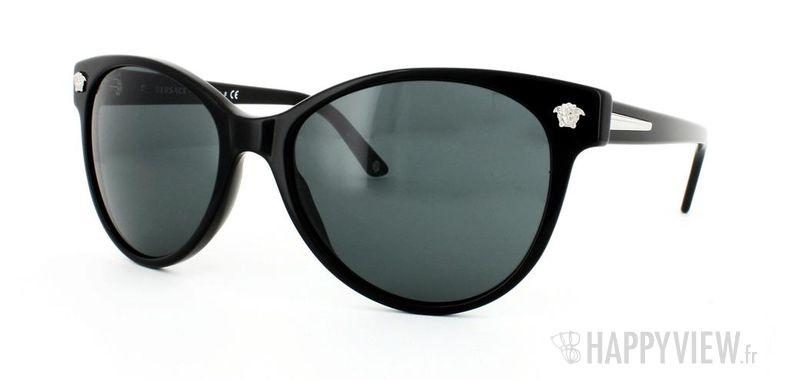 Lunettes de soleil Versace Versace VE4214 noir - vue de 3/4