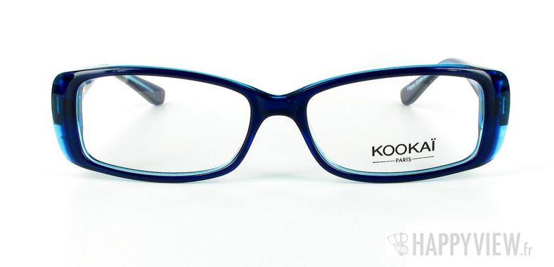 Lunettes de vue Kookaï Kookai 103 bleu/noir - vue de face