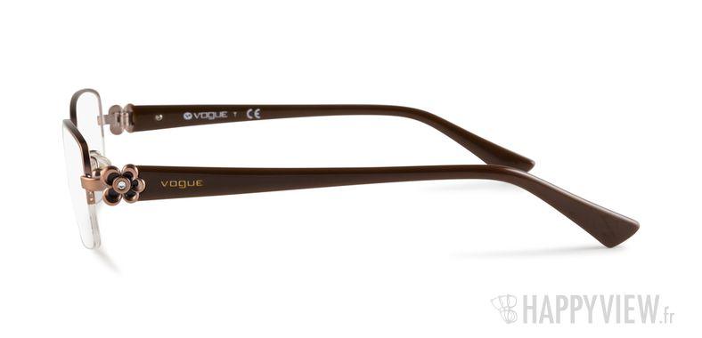 Lunettes de vue Vogue VO 3875B marron - vue de côté