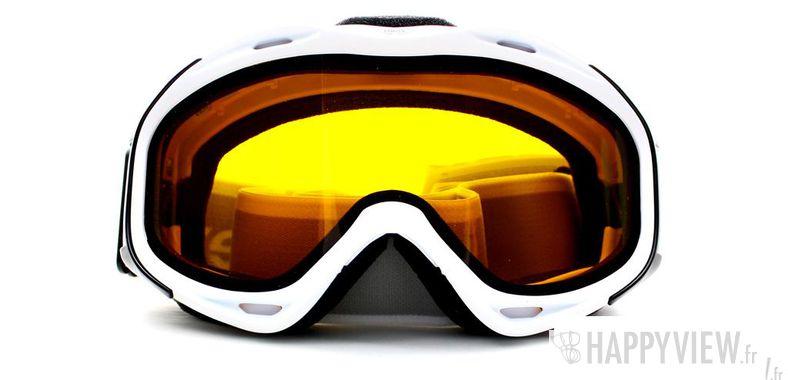 Lunettes de soleil Uvex Uvex Uvision (Par dessus vos lunettes) Medium blanc - vue de face