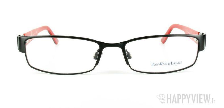 Lunettes de vue Polo Ralph Lauren Polo Ralph Lauren 1083 noir/rouge - vue de face