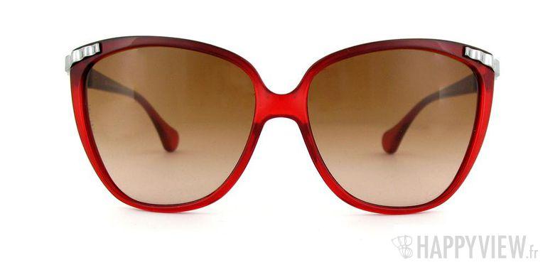 Lunettes de soleil Dolce & Gabbana Dolce&Gabbana 8096 rouge/argenté - vue de face
