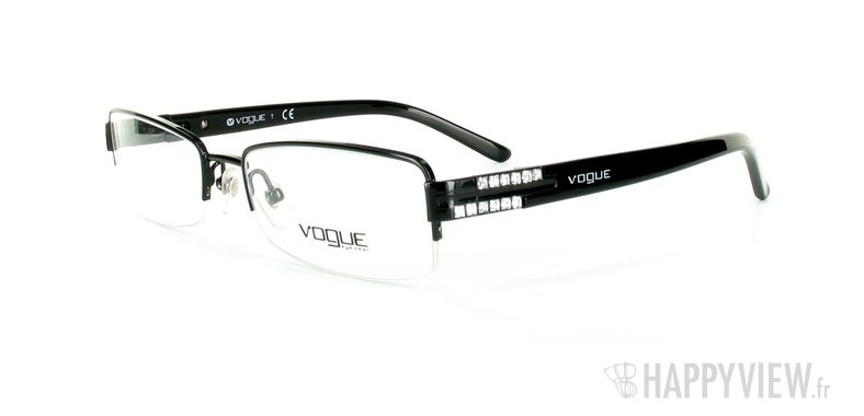 Lunettes de vue Vogue Vogue 3694B noir - vue de 3/4