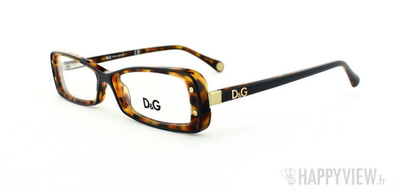 Lunettes de vue Dolce & Gabbana D&G 1227 écaille - vue de 3/4