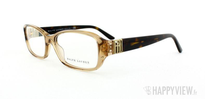 Lunettes de vue Ralph Lauren Ralph Lauren 6085 marron - vue de 3/4
