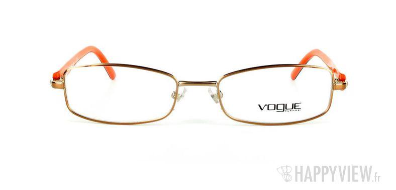 Lunettes de vue Vogue Vogue 3744 marron/orange - vue de face
