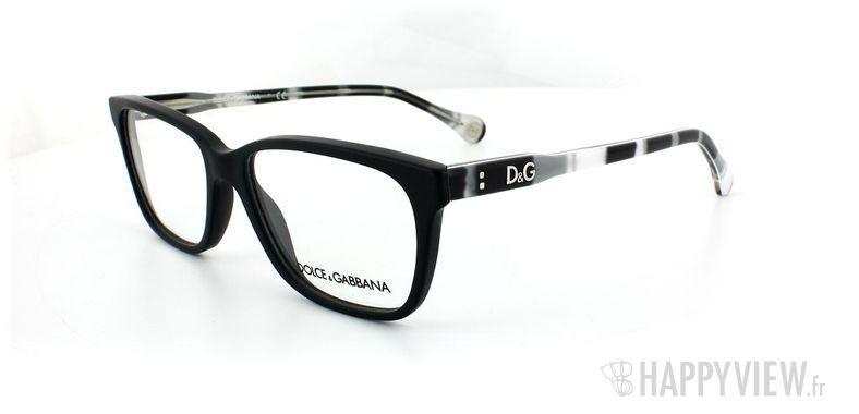 Lunettes de vue Dolce & Gabbana D&G 1238 noir - vue de 3/4