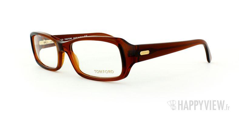 Lunettes de vue Tom Ford Tom Ford 5072 Small marron - vue de 3/4