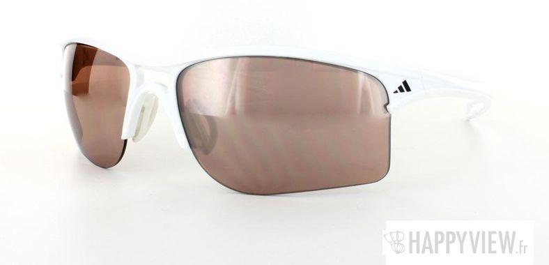 Lunettes de soleil Adidas Adidas 404 blanc - vue de 3/4