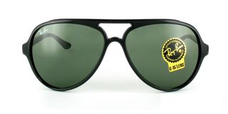 Lunettes de soleil Ray-Ban Ray-Ban Cats 5000 RB4125 noir/vert
