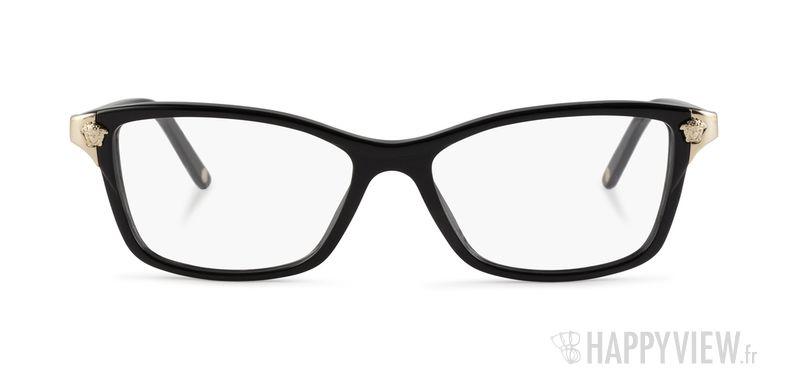 Lunettes de vue Versace VE 3156 noir - vue de face