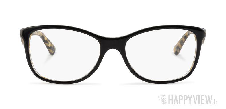 Lunettes de vue Dolce & Gabbana DG 3174 noir/doré - vue de face