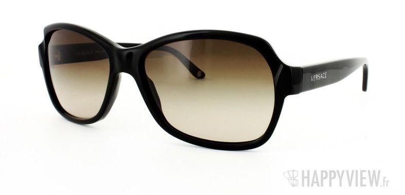 Lunettes de soleil Versace Versace VE4201 noir - vue de 3/4
