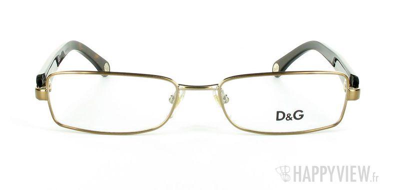 Lunettes de vue Dolce & Gabbana D&G 5065 marron - vue de face