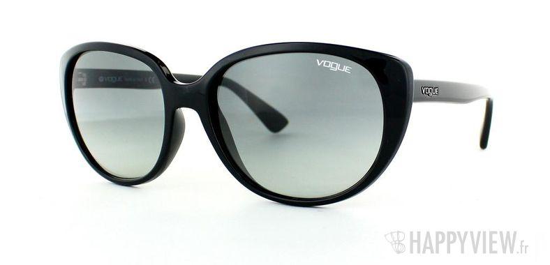 Lunettes de soleil Vogue Vogue 2742S noir - vue de 3/4