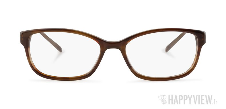 Lunettes de vue Elle EL 13377 marron - vue de face