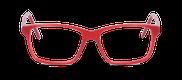 Lunettes de vue Happyview CAMILLE rouge - danio.store.product.image_view_face miniature