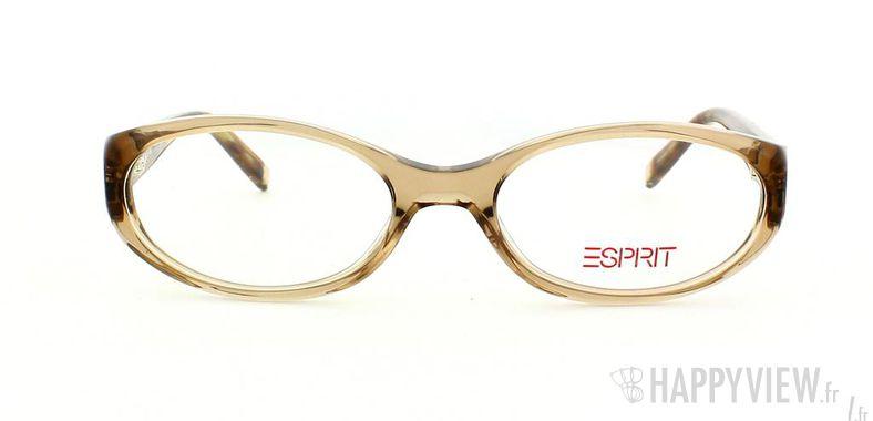 Lunettes de vue Esprit Esprit 17369 marron - vue de face