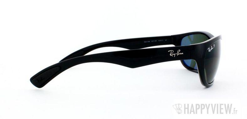 Lunettes de soleil Ray-Ban Ray-Ban RB4188 Polarisée noir - vue de côté