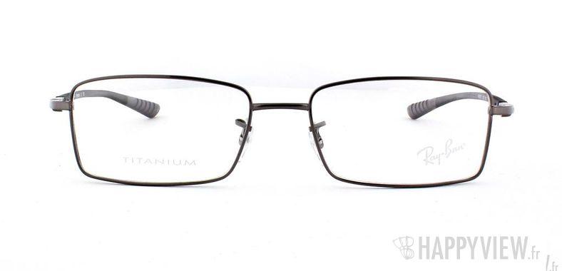 Lunettes de vue Ray-Ban Ray-Ban RX8705 Titane gris - vue de face