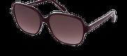 Lunettes de soleil Happyview MADELEINE violet - vue de 3/4 miniature