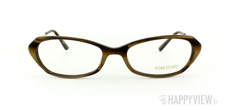 Lunettes de vue Tom Ford Tom Ford 5134 marron/doré - vue de face