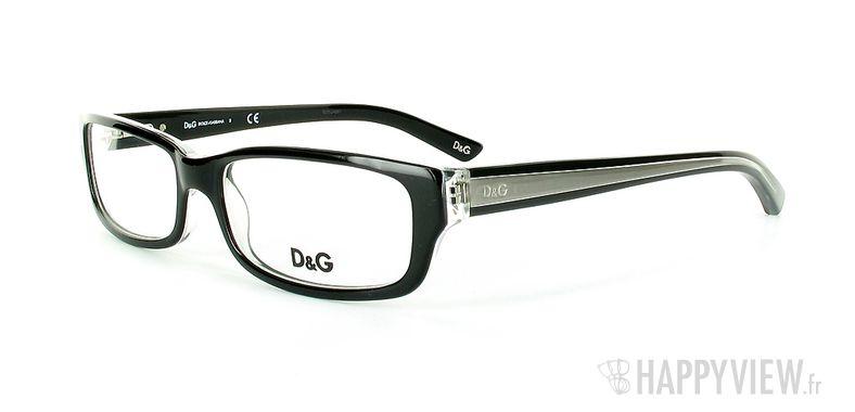 Lunettes de vue Dolce & Gabbana D&G 1167 noir - vue de 3/4