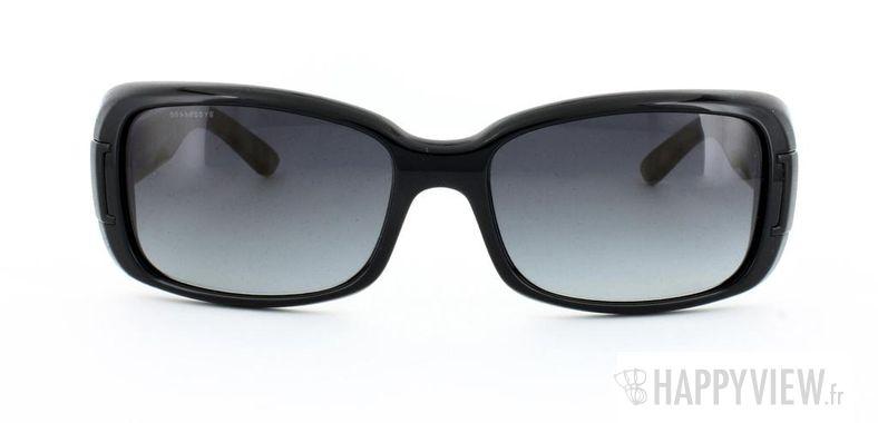 Lunettes de soleil Burberry Burberry 4087 noir - vue de face