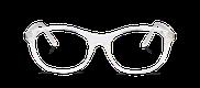 Lunettes de vue Happyview JEANNE blanc - danio.store.product.image_view_face miniature