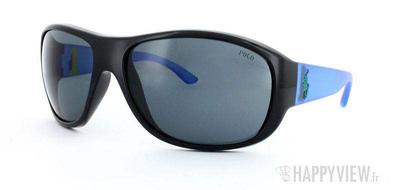 Lunettes de soleil Polo Ralph Lauren Polo Ralph Lauren 4063 noir/bleu - vue de 3/4